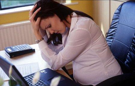 стресс при поздней беременности