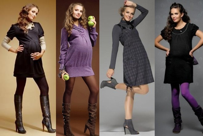 платье - подчеркнет вашу женственность даже во время беременности