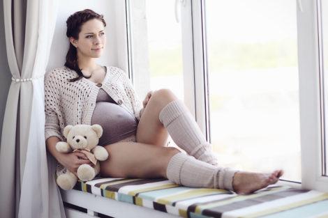 Фотосессия беременной женщины